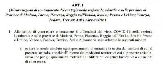 Chiusura Lombardia - abito a Milano sposa a Torino 2