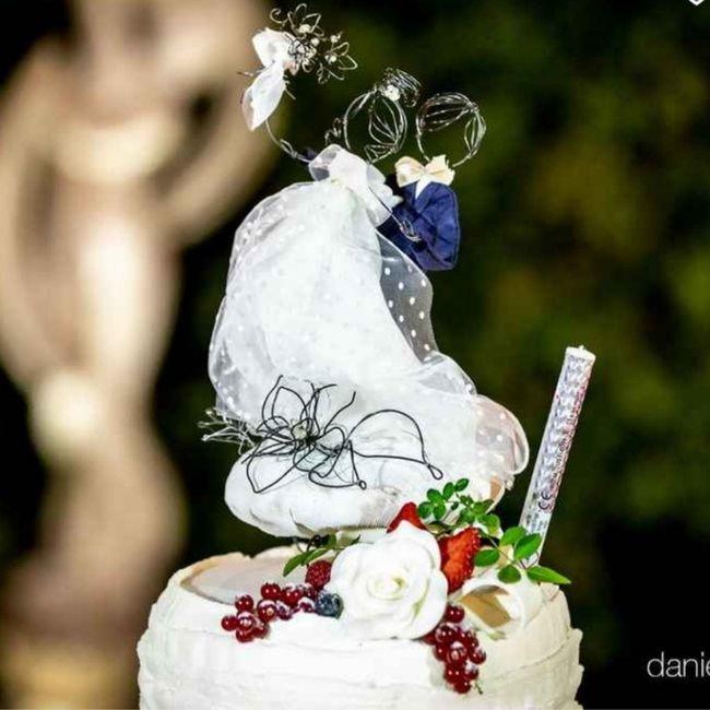 Cake topper personalizzato: sì o no? - 1