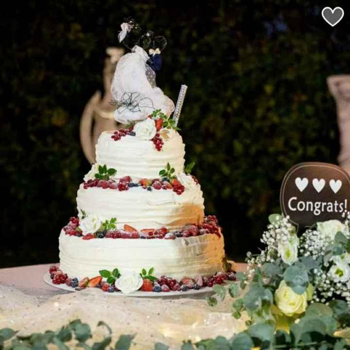 Naked cake e decorazioni - 1