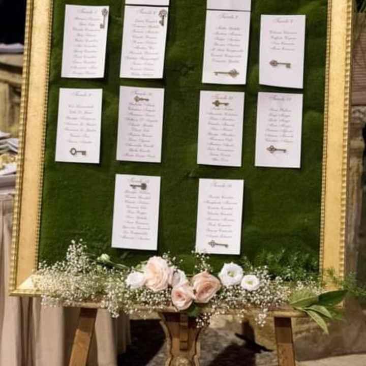 Tableau mariage cornice - 1