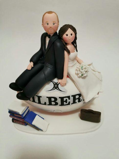 Il nostro cake topper! 3