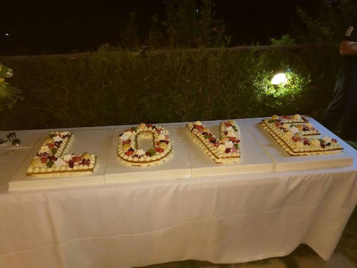 Panico torta nuziale 😭 10