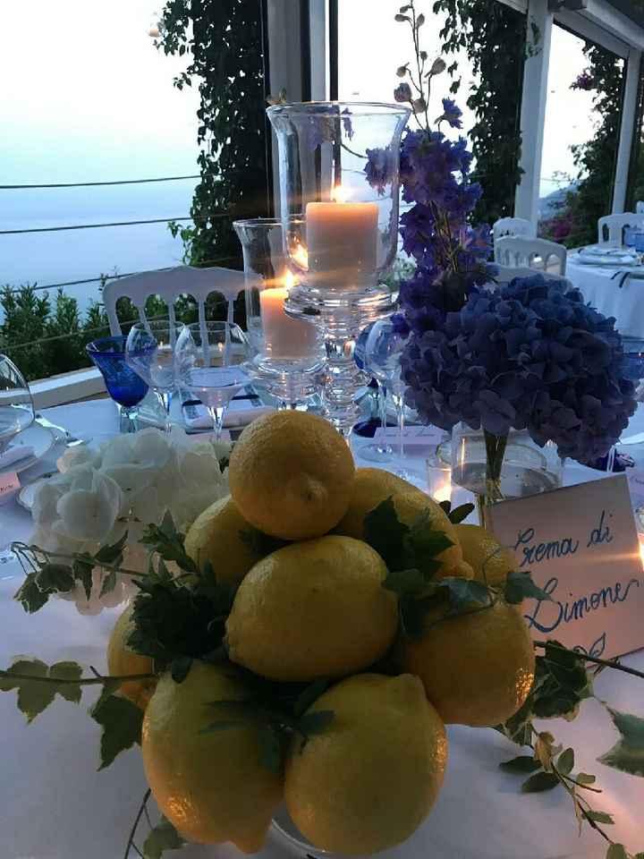 Idea nome tavoli con tema ceramiche vietresi - 1