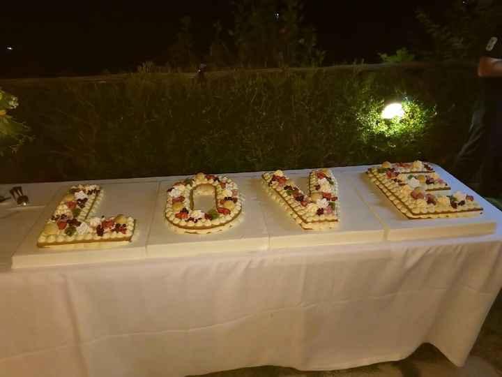 Wedding cake 🍰 - 1