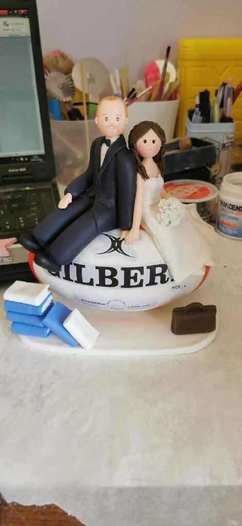 Cake topper personalizzato - 1