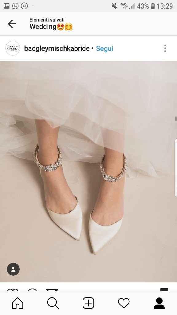 Scarpe basse per il matrimonio - 1