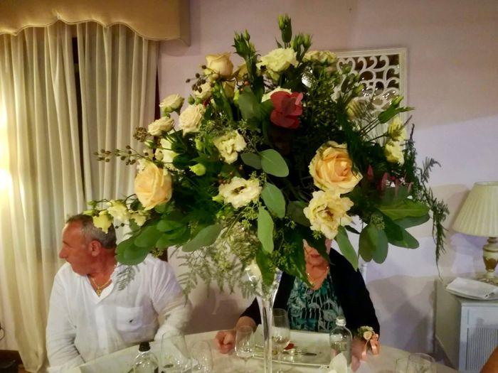 Bouquet pesca bianco 4
