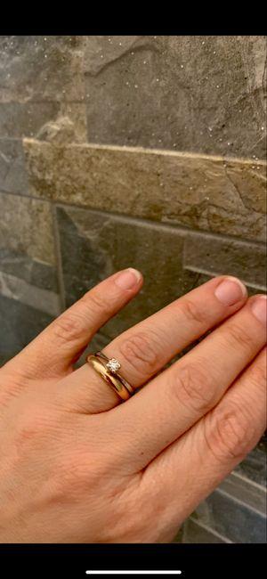fede nuziale e anello di Fidanzamento. 6