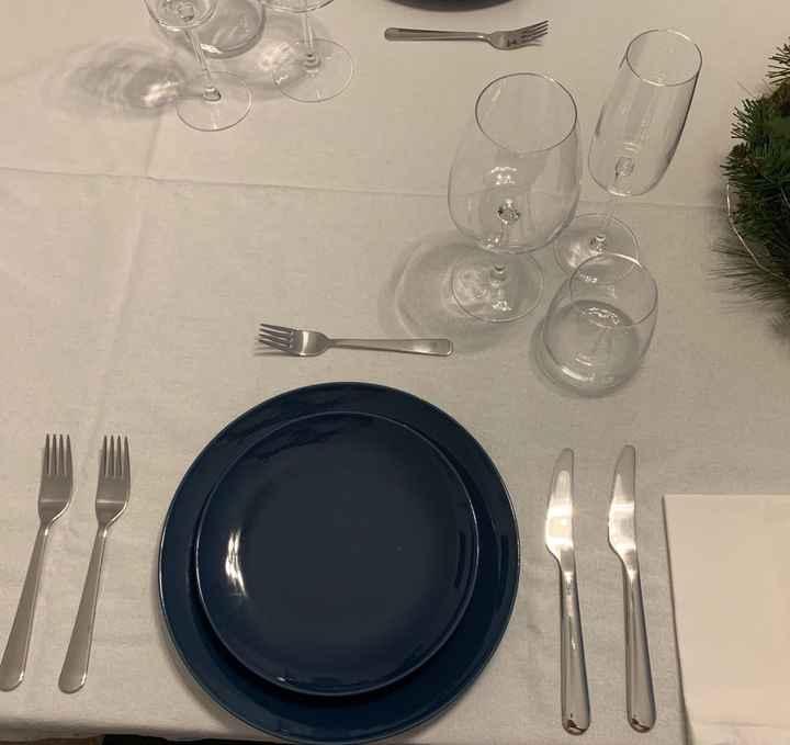 Aiuto cristallame e servizio piatti - 1