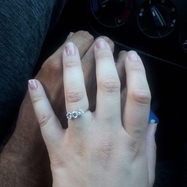 I vostri anelli di fidanzamento: vogliamo vederli! 18