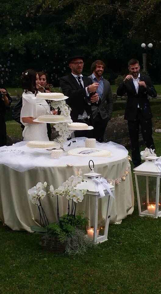 Neo-sposine ci siete? Postate qui la vostra torta nuziale! - 1