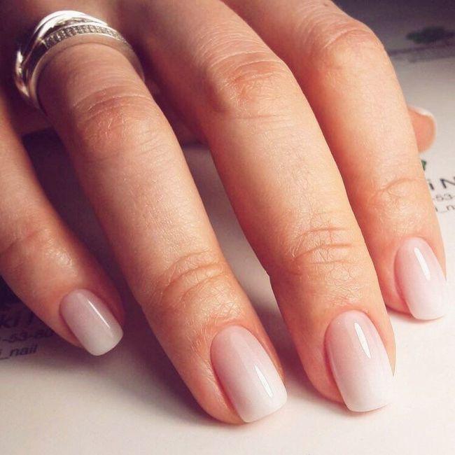 La mia idea di manicure per il matrimonio 1