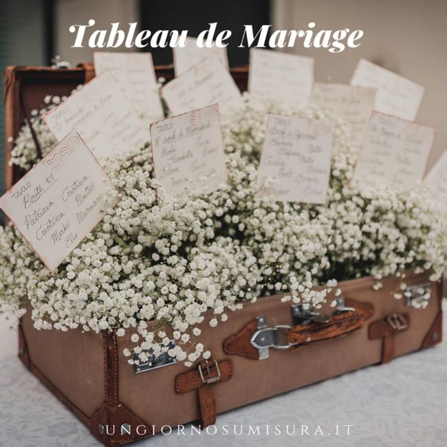 Tableau de mariage 22