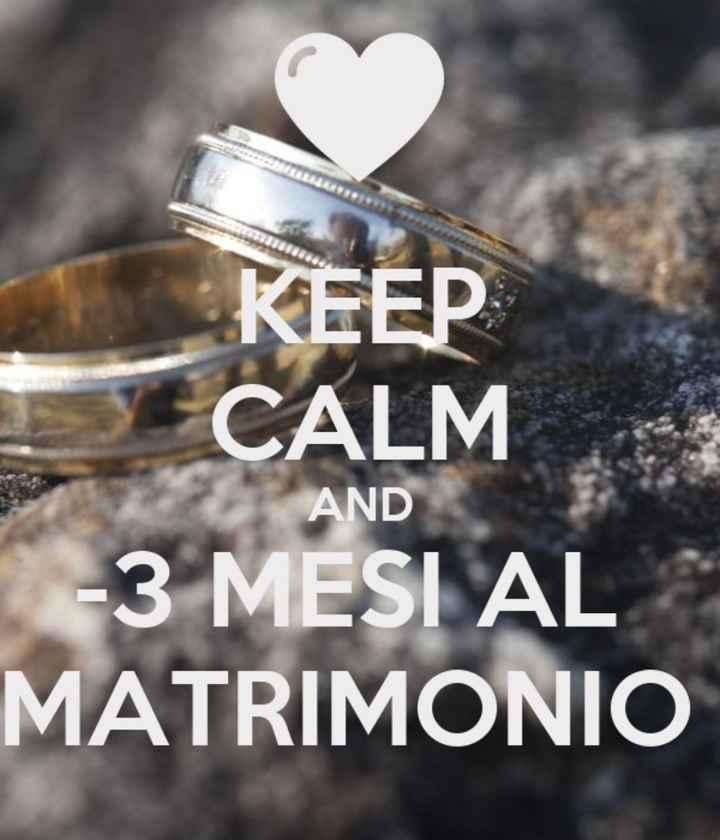 Mancano 3 mesi al nostro matrimonio!!🤩 - 1