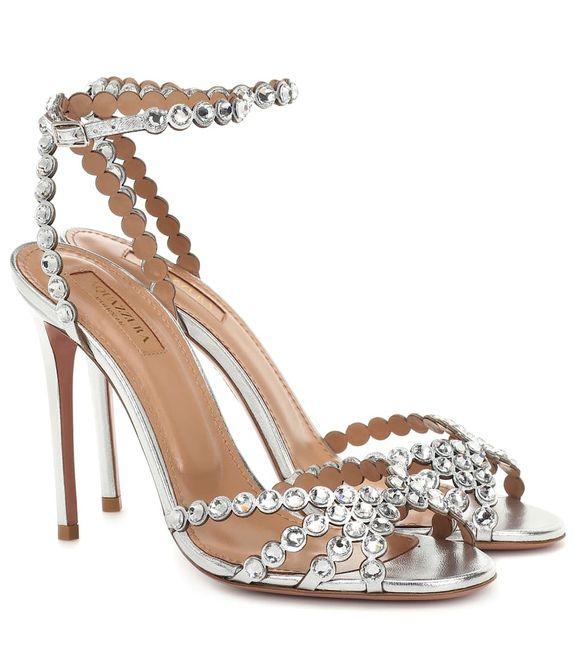 Consiglio scarpe per abito color cipria 3