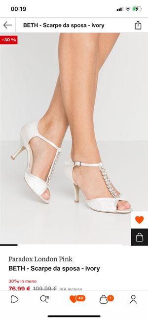 Help!! Scarpe sposa basse e comode e...non eccessivamente costose $$$$$ 7