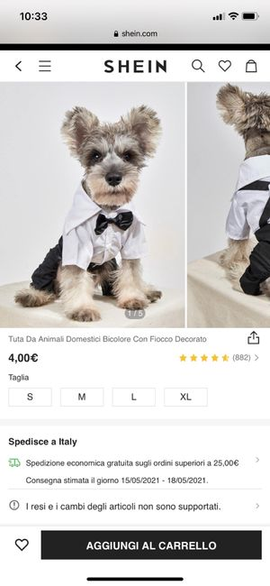 Pettorine Wedding per cani 🐶 - 1