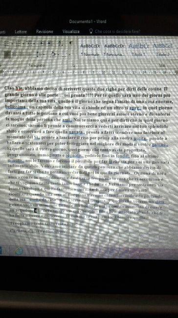 Lettera Ad Unamica Che Si Sposa Prima Delle Nozze Forum