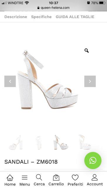 Che scarpe avete scelto per il vostro matrimonio? 17