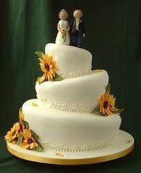 Torte Matrimonio Girasoli : Torta nuziale ricevimento di nozze forum matrimonio.com