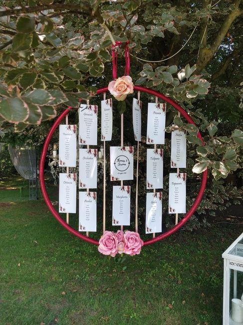 Tema fiori - Bordeaux & Rosa 1