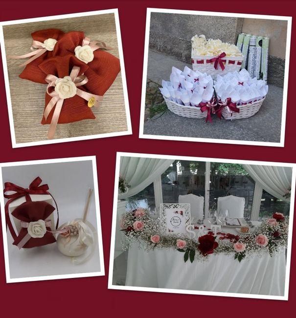 Tema fiori - Bordeaux & Rosa 2