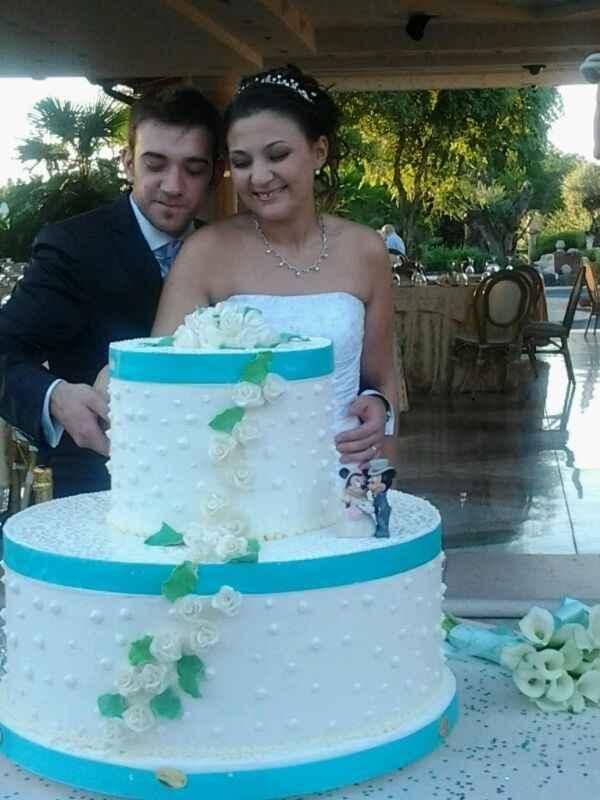 il taglio torta!