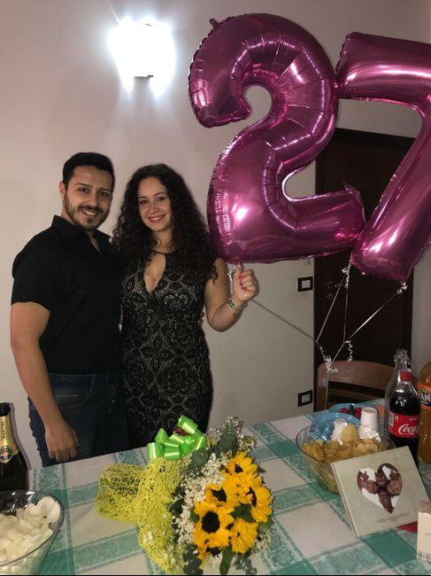 Ultimo compleanno da fidanzata 🌻♥️ 2