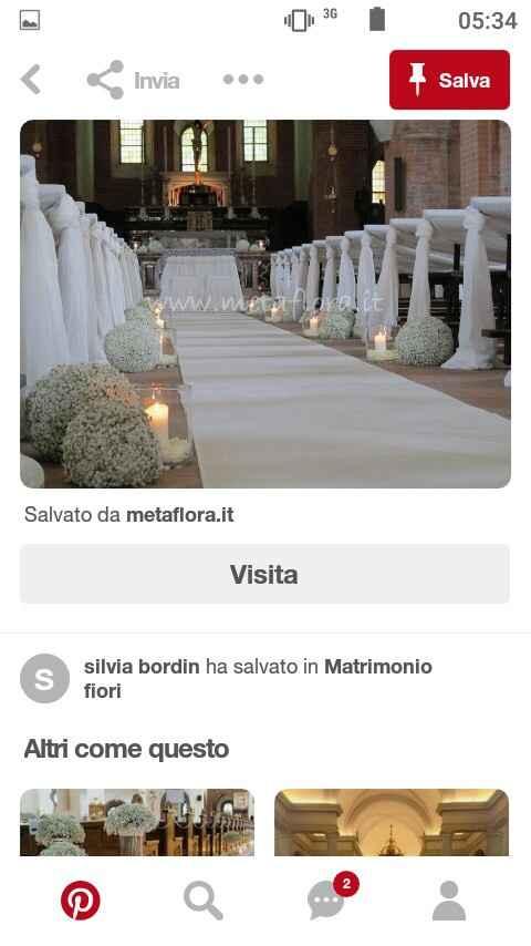 Tavoli in chiesa.. - 1