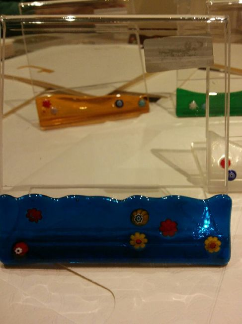 Ecco come ho confezionato le bomboniere (anch'esse fatte a mano) e come ho personalizzato il guestbo