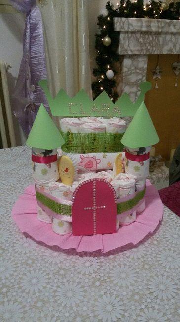 Diapers cake (torta di pannolini) - 3