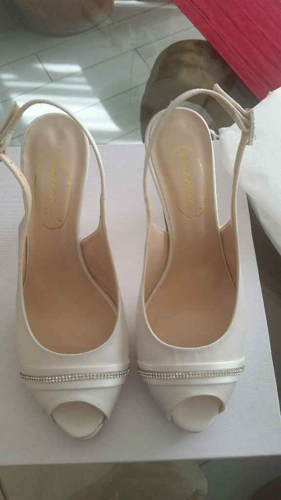 Le mie scarpe da sposa!! 😍😍😍 - 1