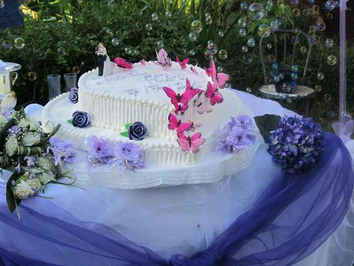 ecco la mia fantastica torta