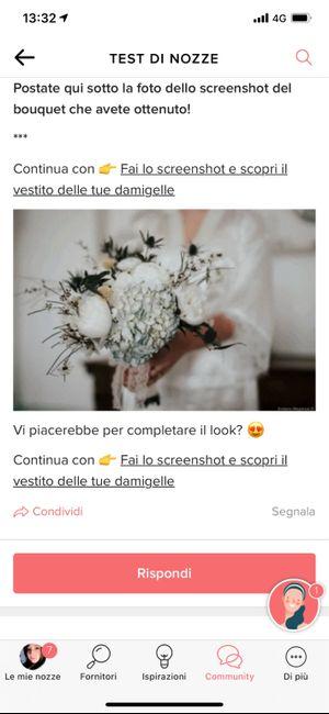 Fai lo screenshot e scopri il tuo bouquet 23