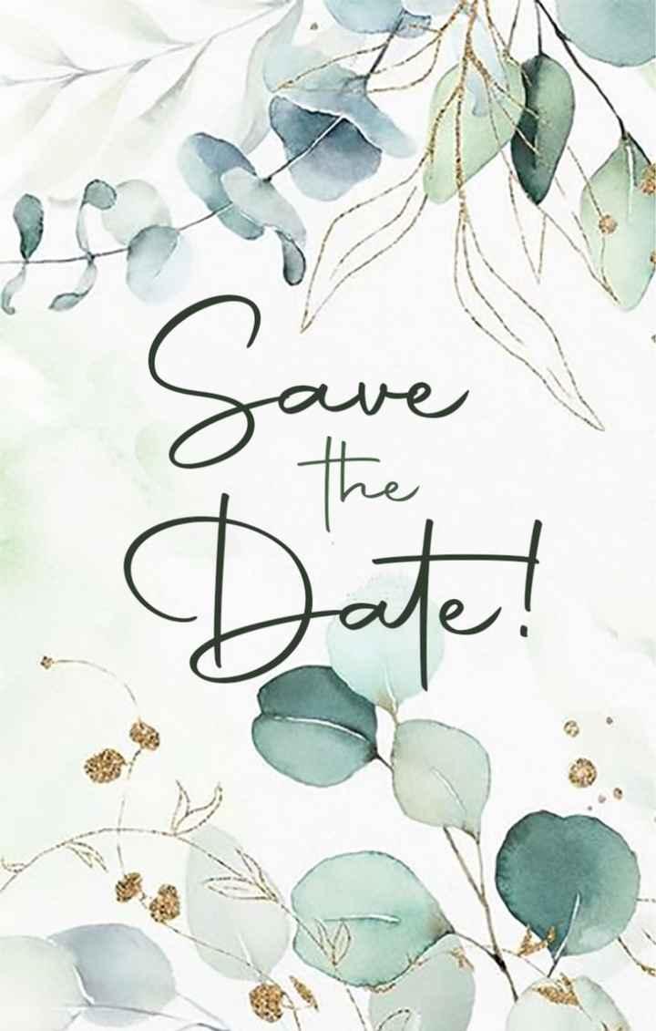 Save the date quasi pronti! 🌿 - 1