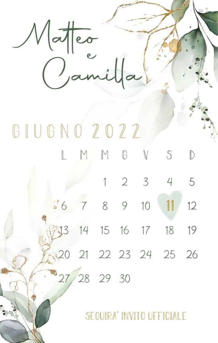 Save the date quasi pronti! 🌿 - 2