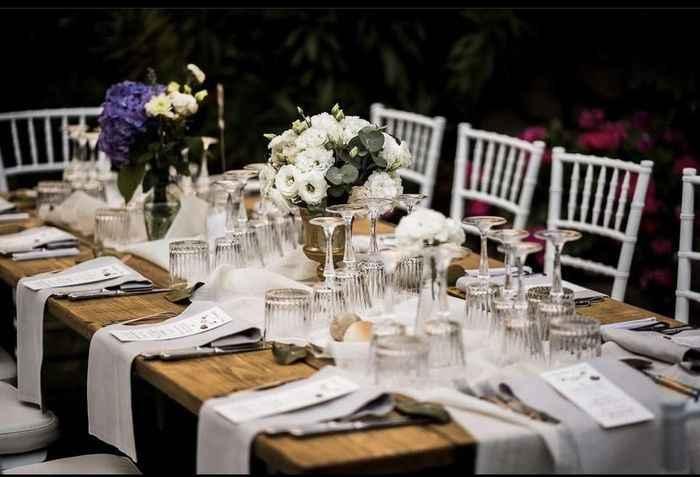 Al ristorante tavoli rotondi o rettangolari??? - 1