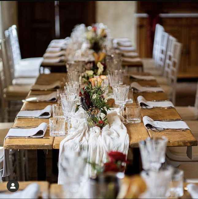 Matrimonio greenery come consigliate di fare i tavoli? - 1