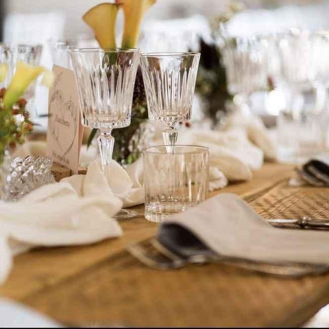 Matrimonio greenery come consigliate di fare i tavoli? - 2