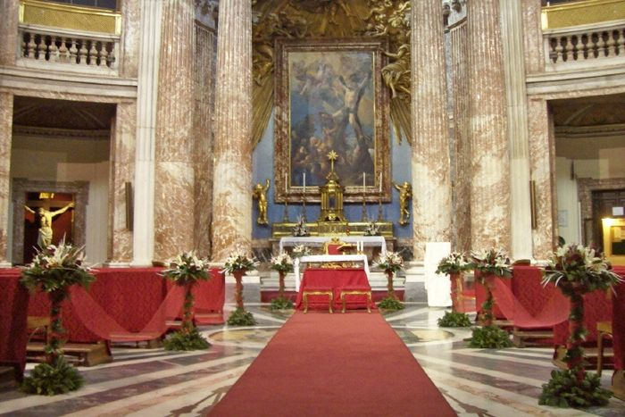 Matrimonio Natalizio Addobbi : Addobbi chiesa lazio forum matrimonio