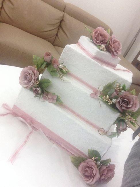 Matrimonio Regalo In Busta : Torta portabuste finita quasi fai da te forum