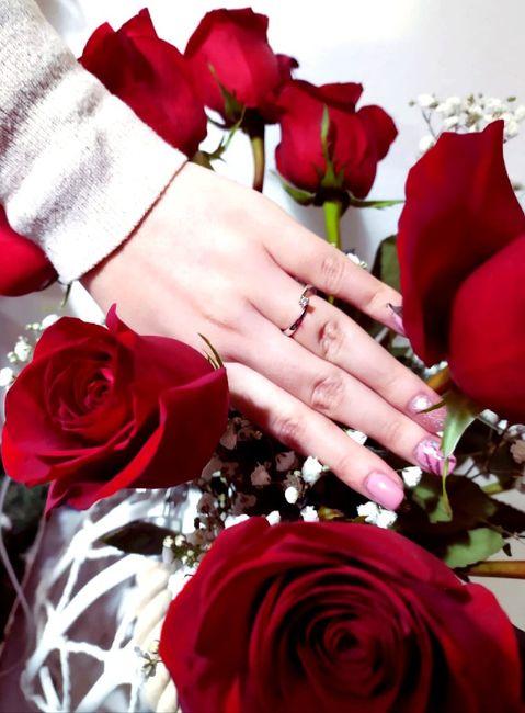 E ora mostraci una foto del tuo anello di fidanzamento! 21