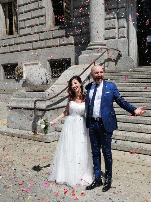 Sposi che sono convolati a nozze durante il Covid-19: lasciate qui i vostri consigli! 👇 26