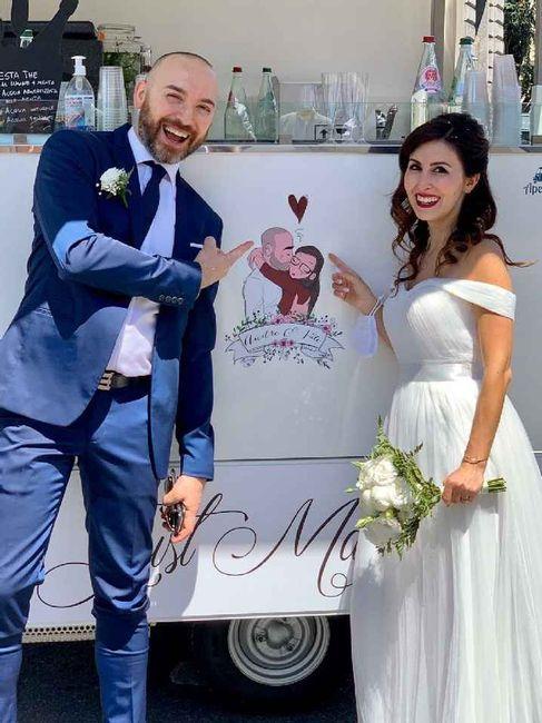 Sposi che sono convolati a nozze durante il Covid-19: lasciate qui i vostri consigli! 👇 28