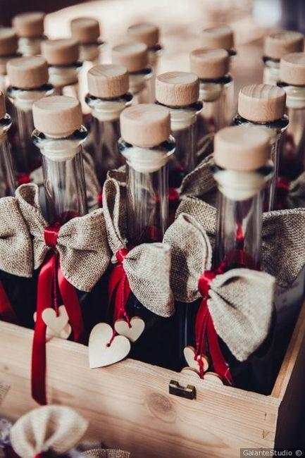 Segna posto/mini cadeaux tema vino 4