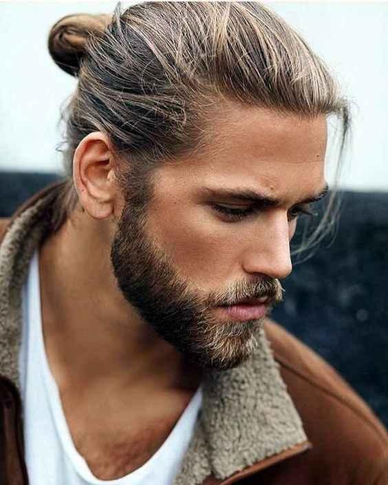 Acconciature sposo con capelli lunghi - 3