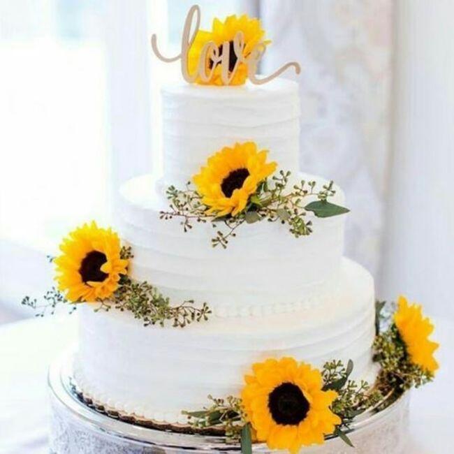 Matrimonio tema girasoli🌻 8