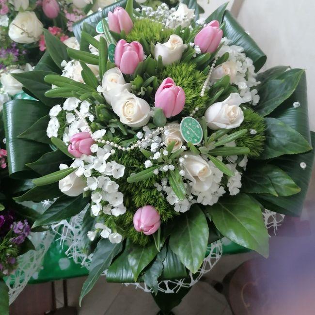 ☘️ Mazzolino di fiori per le Promesse di Matrimonio 💐 5