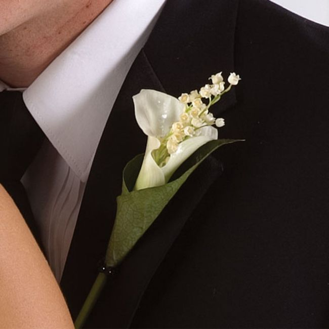Boutonnière🌹: un must per lo sposo 2