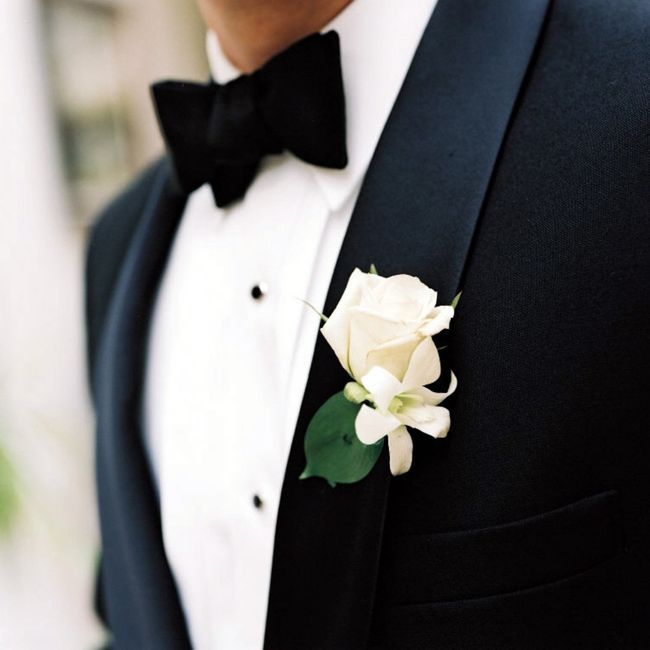 Boutonnière🌹: un must per lo sposo 3